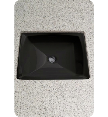TOTO LT491 Connelly™ Undercounter ADA Lavatory Sink in Ebony Black