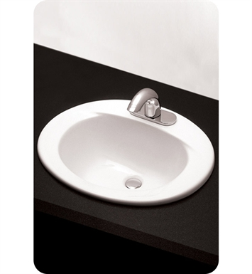 "TOTO LT501.8#03 Self Rimming Lavatory - ADA With Finish: Bone And Faucet Holes: Three Hole for 8"" Faucet Centers"