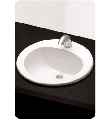 "TOTO LT502.4#01 Self Rimming Lavatory - ADA With Finish: Cotton And Faucet Holes: Three Hole for 4"" Faucet Centers"