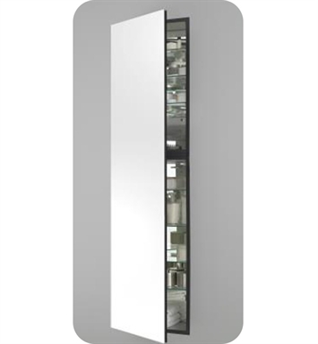 "Robern MC2070D824LE2 M Series 19 1/4"" Wide x 8"" Deep Customizable Cabinet With Cabinet Hinge: Left And Electrical Option: Electrical outlet with Interior Light And Style and Color: Smoke Screen <strong>(USUALLY SHIPS IN 3-4 WEEKS)</strong>"