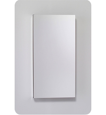 "Robern MC1230D4FPLE2 M Series 11 1/4"" Wide x 4"" Deep Customizable Cabinet With Cabinet Hinge: Left And Electrical Option: Electrical outlet with Interior Light And Style and Color: Flat Cabinet Top with Plain Mirrored Door"