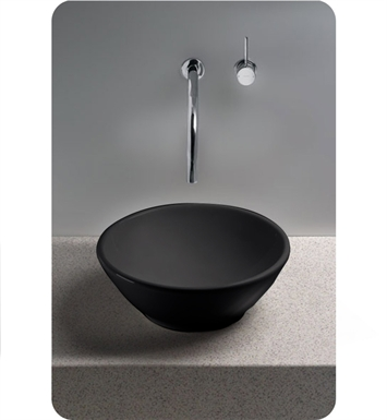 TOTO LT523 Larissa® Vessel Lavatory in Ebony Black