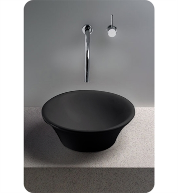 TOTO LT524#51 Alexis® Vessel Lavatory in Ebony Black With Finish: Ebony <strong>(SPECIAL ORDER. USUALLY SHIPS IN 3-4 WEEKS)</strong>