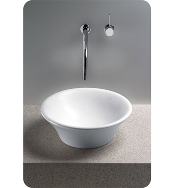 TOTO LT524G#01 Alexis® Vessel Lavatory with SanaGloss® With Finish: Cotton