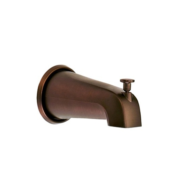 "Danze D606425RB 8"" Wall Mount Tub Spout with Diverter in Oil Rubbed Bronze"