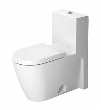 Duravit 2133010005 Starck One-Piece Toilet in White Alpin Finish