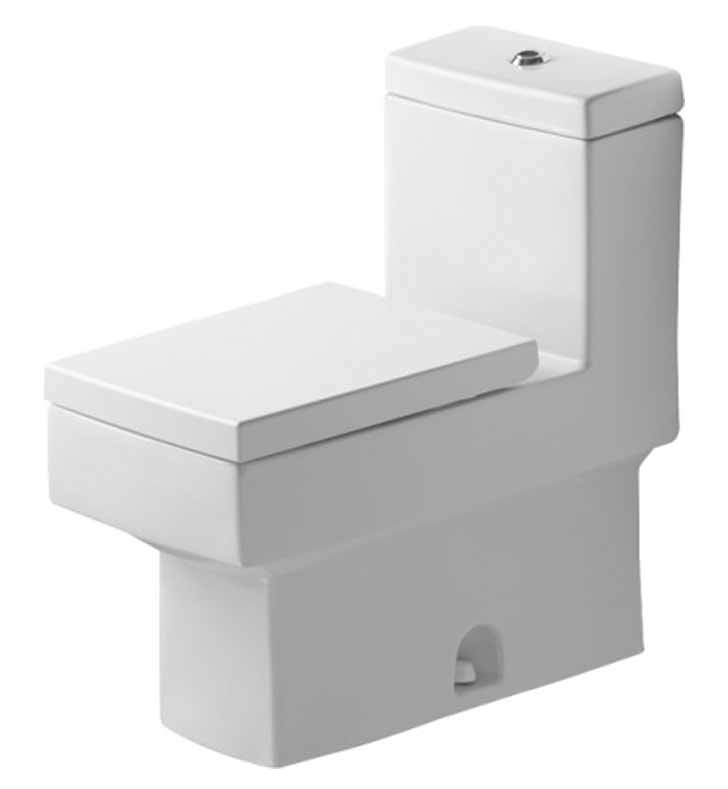 duravit 2103010005 vero one piece toilet in white alpin finish. Black Bedroom Furniture Sets. Home Design Ideas