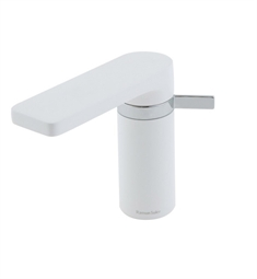 Nameeks Ramon Bathroom Sink Faucet US-2601 in White and Chrome