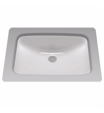 "TOTO LT542G#12 20 7/8"" Vitreous China Rectangular Undercounter Lavatory Sink With Finish: Sedona Beige"