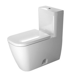 Duravit Happy D One Piece Toilet in White Alpin Finish