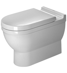 Duravit Starck One Piece Elongated Toilet in White Alpin Finish