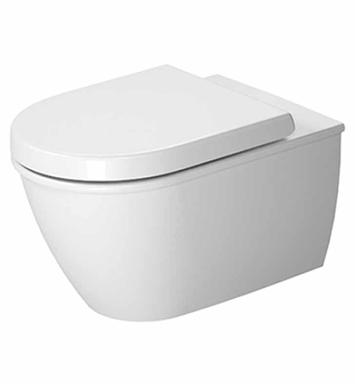 Duravit 2545090092 Darling New Elongated One Piece Toilet in White Finish
