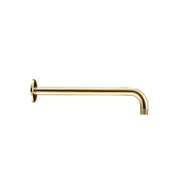 "Danze D481027PBV 15"" Right Angle Shower Arm with Flange in Polished Brass"