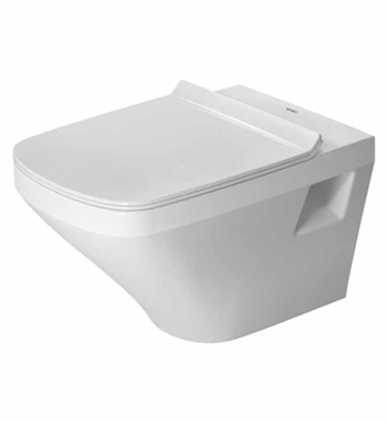 Duravit 2538090092 Durastyle One-Piece Wall-Mounted Rimless Toilet