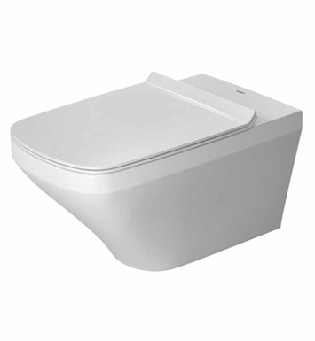 Duravit 2537090092 Durastyle One-Piece Wall-Mounted Toilet in White Finish