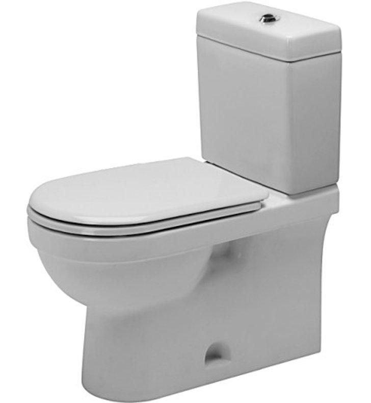 duravit 0112010062 happy d 2 elongated two piece toilet bowl. Black Bedroom Furniture Sets. Home Design Ideas