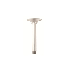 "Danze 6"" Ceiling Mount Shower Arm with Flange in Polished Nickel"