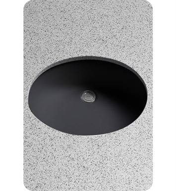 TOTO LT579 Rendezvous® Undercounter ADA Lavatory in Ebony Black