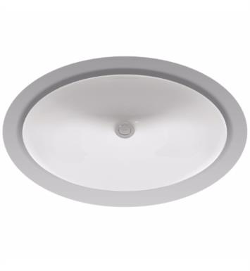 "TOTO LT597 Dantesca 21 1/4"" Vitreous China Oval Undercounter Lavatory Sink"
