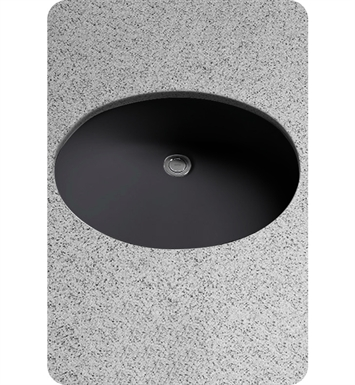 TOTO LT597#51 Dantesca® Undercounter ADA Lavatory in Ebony Black With Finish: Ebony <strong>(SPECIAL ORDER. USUALLY SHIPS IN 3-4 WEEKS)</strong>