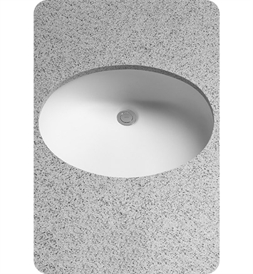 TOTO LT597G#11 Dantesca® Undercounter Lavatory with SanaGloss® - ADA With Finish: Colonial White