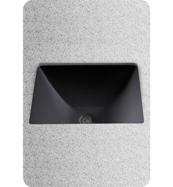TOTO LT624#51 Legato™ Undercounter Lavatory in Ebony Black With Finish: Ebony <strong>(SPECIAL ORDER. USUALLY SHIPS IN 3-4 WEEKS)</strong>