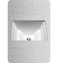 TOTO Aimes® Undercounter Lavatory, with SanaGloss