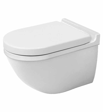Duravit 2226090092 Starck Elongated One-Piece Wall-Mount Toilet