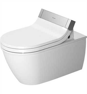 Duravit 2544590092 Darling New Elongated Two Piece Toilet