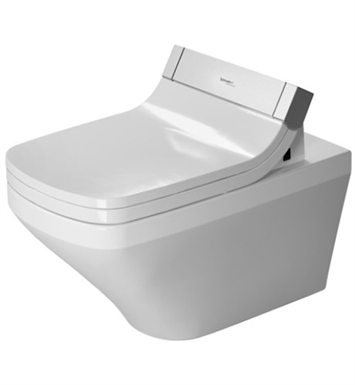 Duravit 2542590092 Durastyle Elongated Wall Mounted Toilet