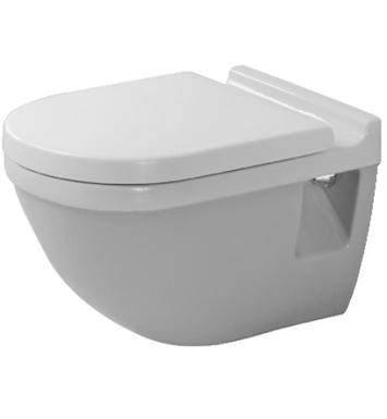 Duravit 2200090092 Starck Elongated One Piece Wall-Mounted Toilet