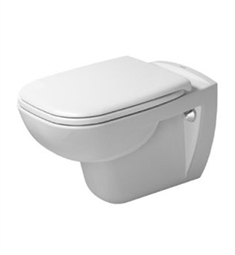 Duravit D-Code Elongated Wall Mounted Toilet