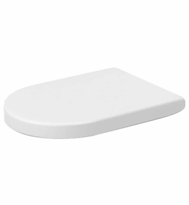 Duravit 0063390000 Darling New Plastic Elongated Toilet Seat And Cover In Whi