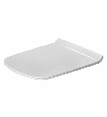 Duravit 0060510000 DuraStyle Plastic Specialty Toilet Seat and Cover in White Alpin Finish