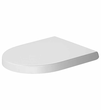 Duravit 0069890000 Darling New Plastic Round Toilet Seat and Cover in White Alpin Finish