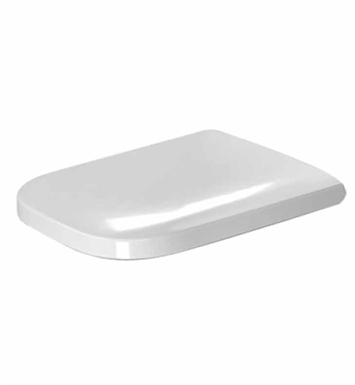 Duravit 0064590000 Happy D Plastic Specialty Toilet Seat and Cover in White Alpin Finish
