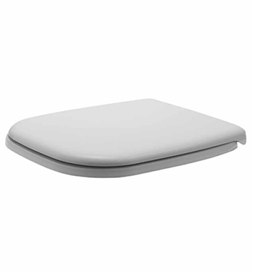 Duravit 0067410000 D-Code Plastic Specialty Toilet Seat And Cover in White Alpin Finish