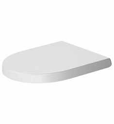 Duravit Darling New Plastic Round Toilet Seat in White Alpin Finish