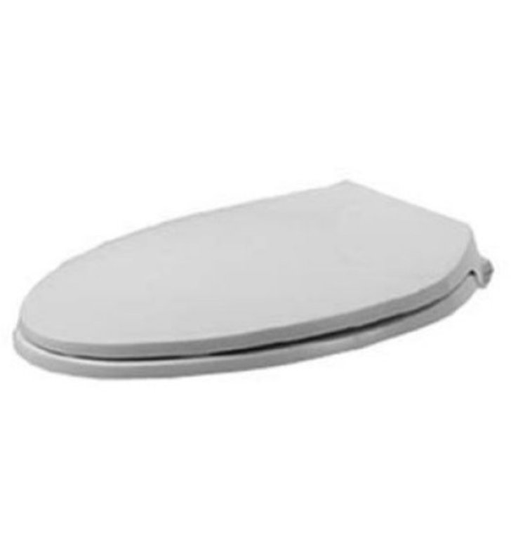 Duravit 0066790000 Metro Plastic Elongated Toilet Seat And Cover In White Alp