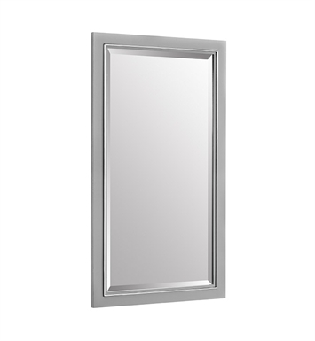 "Fairmont Designs 179-M18 Metropolitan 18"" Mirror in Glossy Light Gray"