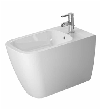 Duravit 2259100000 Happy D Spray Bidet Floor Standing in White Alpin Finish