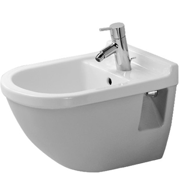 Duravit 2230150000 Starck Spray Bidet Wall Mounted in White Alpin Finish