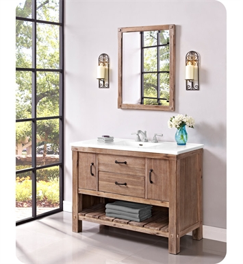 "Fairmont Designs 1507-VH48 Napa 48"" Open Shelf Vanity in Sonoma Sand"
