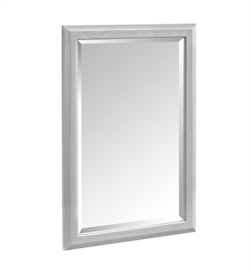 "Fairmont Designs 1510-M24 Charlottesville 24"" Mirror in Light Gray"