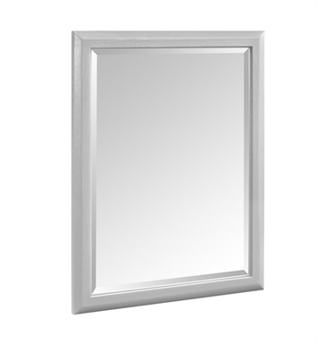 "Fairmont Designs 1510-M28 Charlottesville 28"" Mirror in Light Gray"