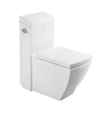 Fresca FTL2336 Apus One Piece Elongated Toilet with Soft Close Seat