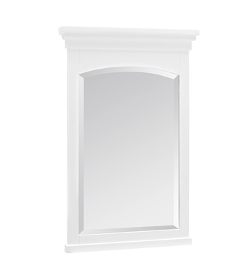 "Fairmont Designs 1512-M19 Shaker Americana 19"" Mirror in Polar White"