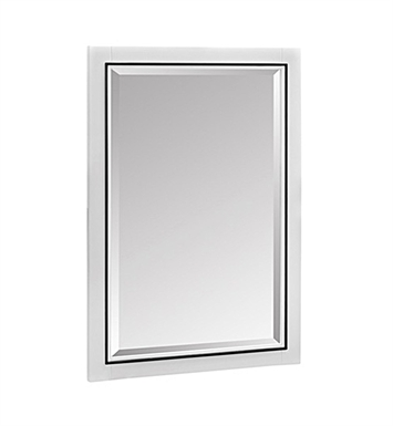 "Fairmont Designs 1525-M24 m4 24"" Mirror in Glossy White"