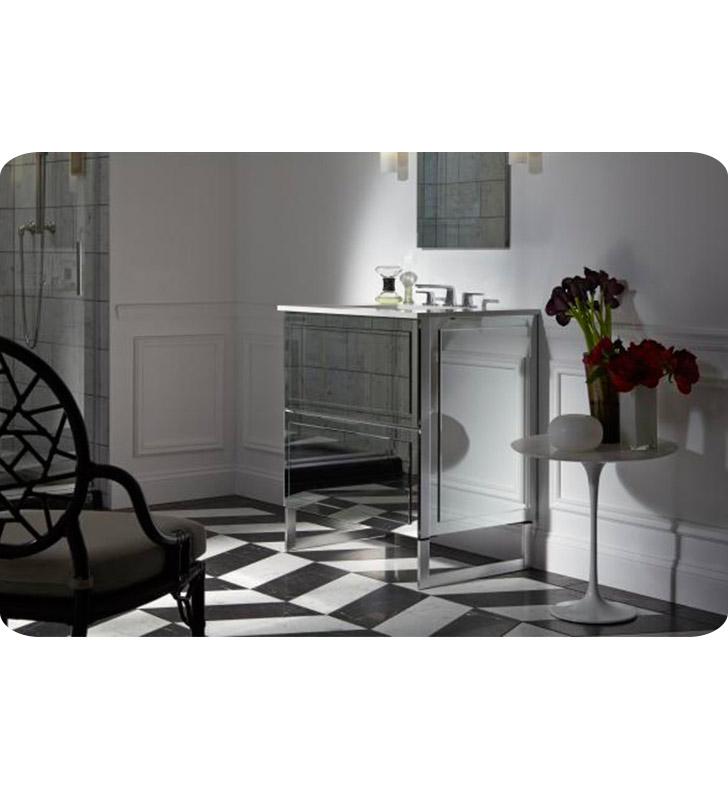 """Robern Bathroom Vanities: Robern VF30TDC Adorn II Customizable 30"""" Modern Bathroom"""