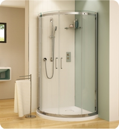 Fleurco Banyo Shuttle Arc 40 Semi Frameless Curved Sliding Doors